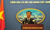 ท่าทีของเวียดนามต่อกรณีเรือประมงของเวียดนามถูกเรือของฝ่ายจีนชนในทะเลตะวันออก