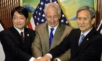 ญี่ปุ่น-สหรัฐ-สาธารณรัฐเกาหลีเห็นพ้องที่จะยับยั้งไม่ให้เปียงยางพัฒนานิวเคลีรย์