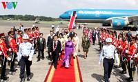 ประธานประเทศเวียดนามเจรจากับประธานาธิบดีอินโดนีเซีย