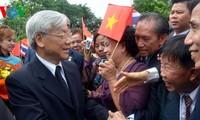 เลขาธิการใหญ่พรรคคอมมิวนิสต์เวียดนามเสร็จสิ้นการเยือนไทยด้วยผลสำเร็จอย่างงดงาม