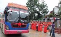 เปิดเส้นทางคมนาคมสายกาวบั่ง-ป๋ายเซือ ระหว่างเวียดนามและจีน