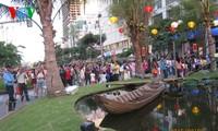 นักท่องเที่ยวต่างชาติที่เดินทางมาเที่ยวเวียดนามในช่วงตรุษเต๊ตเพิ่มขึ้น
