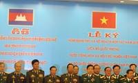 กระชับความร่วมมือระหว่างกระทรวงกลาโหมเวียดนาม-กัมพูชา