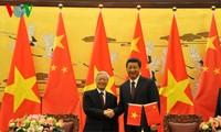เลขาธิการใหญ่พรรคคอมมิวนิสต์เวียดนามเสร็จสิ้นการเยือนจีน