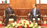ประธานประเทศต้อนรับผู้อำนวยการธนาคารโลกประจำเวียดนาม
