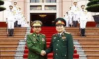 คณะผู้แทนระดับสูงกองทัพเวียดนามเยือนเมียนมาร์