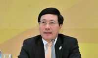 รองนายกรัฐมนตรีและรัฐมนตรีว่าการกระทรวงการต่างประเทศเวียดนามแจ้งผลการประชุมผู้นำเอเปก 2017