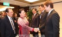 การสนทนาระหว่างสถานประกอบการเวียดนาม-สิงคโปร์
