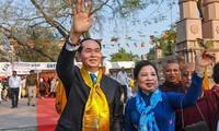 ประธานประเทศเวียดนามเสร็จสิ้นการเยือนอินเดีย