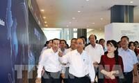 นายกรัฐมนตรีเหงียนซวนฟุ๊กตรวจสอบการเตรียมพร้อมให้แก่การประชุม WEF-ASEAN 2018