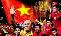 บรรยากาศก่อนการแข่งขันนัดสุดท้ายรอบชิงถ้วย ซูซูกิคัพ ณ สนามกีฬาหมีดิ่ง กรุงฮานอย