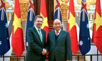 เสริมสร้างความสัมพันธ์หุ้นส่วนยุทธศาสตร์เวียดนาม-ออสเตรเลีย