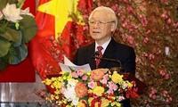 คำอวยพรปีใหม่2019ของประธานประเทศเหงวียนฟู้จ่อง