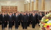 ผู้นำสาธารณรัฐประชาธิปไตยประชาชนเกาหลีเยือนวังพระอาทิตย์ กุมซูซาน