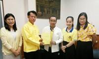 ตีพิมพ์หนังสือประวัติศาสตร์ ประธานโฮจิมินห์ในประเทศไทย