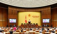 ที่ประชุมสภาแห่งชาติหารือเนื้อหาที่สำคัญด้านเศรษฐกิจสังคม