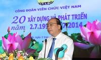 20th anniversary of Vietnam Trade Union