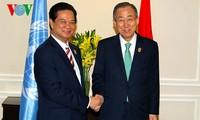 Prime Minister meets UN Secretary General