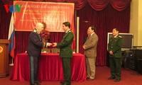 Meeting of Russian war veterans in Vietnam