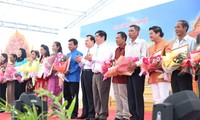 Khmer people in southern Vietnam celebrate Chol Chnam Thmay
