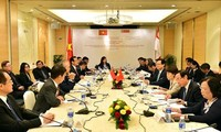 Prime Minister meets with Vietnamese community in Singapore