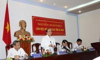Deputy Prime Minister Nguyen Xuan Phuc visits Ca Mau