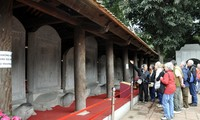 82 doctoral steles at Hanoi's Temple of Literature recognized as national treasures