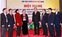 War veterans follow President Ho Chi Minh's moral example