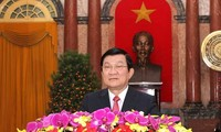President Truong Tan Sang's new year greetings
