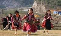 Radio musical and Mong children in Ha Giang