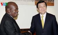 President meets Tanzania's Parliament speaker