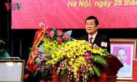 张晋创会见越南三星公司总经理韩明燮