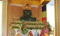 太原省佛教教会举行世界和平玉佛恭迎大典