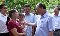 越南政府总理阮春福视察义安省