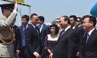越南政府总理阮春福访问中国香港特别行政区