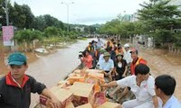 携手帮助中部灾民克服洪灾影响