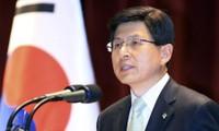 阮春福与韩国代总统兼国务总理黄教安通电话