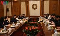 越中两党、两国关系是双方宣教领域合作的基础