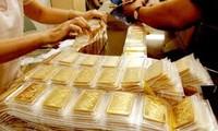 越南金价每两涨10万越盾