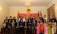 旅居蒙古越南人迎接丁酉传统春节