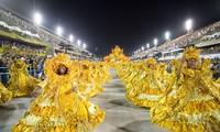 近600万名国内外游客参加巴西里约狂欢节