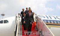 新加坡总理李显龙一行圆满结束对越南的正式访问