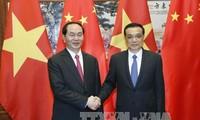 陈大光会见中国国务院总理李克强