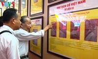 """""""黄沙、长沙归属越南——历史和法理证据""""地图和资料展在广平省举行"""
