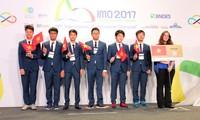 越南在2017年数学奥林匹克竞赛中荣获4枚金牌居第3位