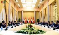 越南和埃及一致同意推动互利合作