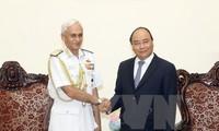 越南和印度军队关系正良好发展
