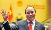 阮春福抵达金边出席湄公河-澜沧江合作第二次领导人会议