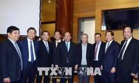 阮春福出席工贸部2018年任务部署会议