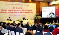 阮春福:鼓励私营部门参与建设职培学校和提供职业指导服务
